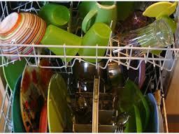 lave vaisselle rempli