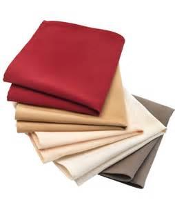 serviettes en tissus